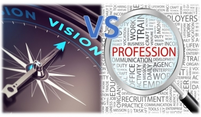 Difference Between Vision and Profession
